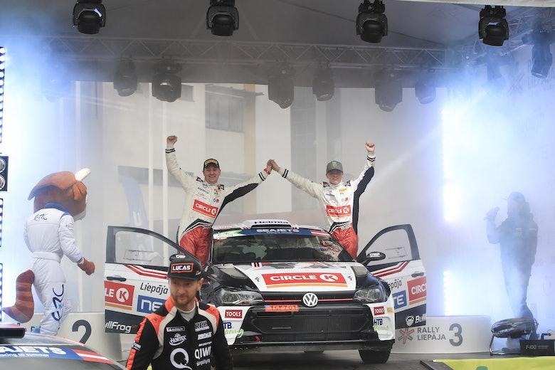 Oliver Solberg wins ERC Liepaja 2019