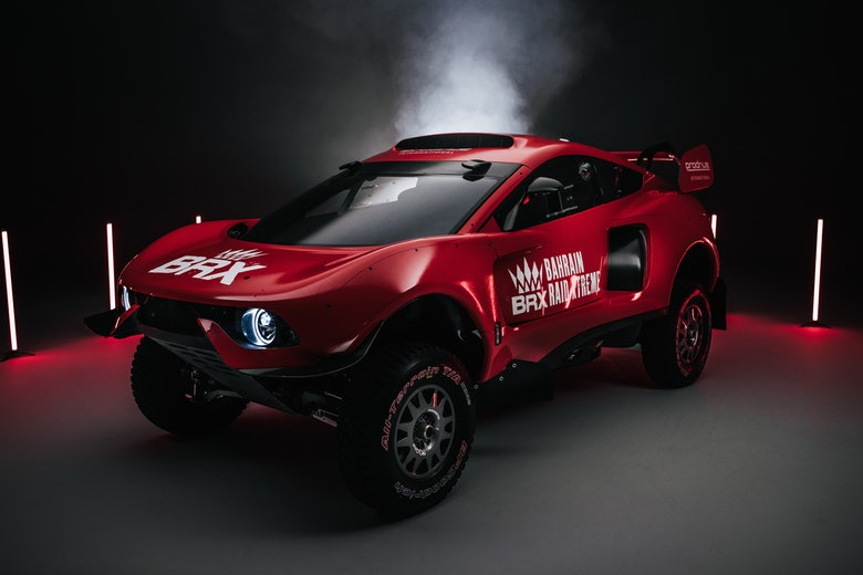 Bahrain Raid Xtreme reveals its striking racing red livery (1)