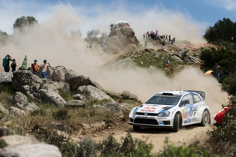 Sebastien Ogier - Action