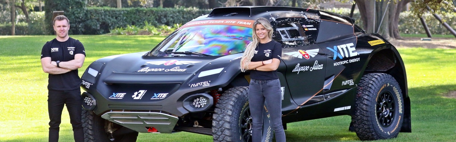 Oliver Bennett and Christine Giampaoli Zonca_HISPANO SUIZA XITE ENERGY TEAM_1