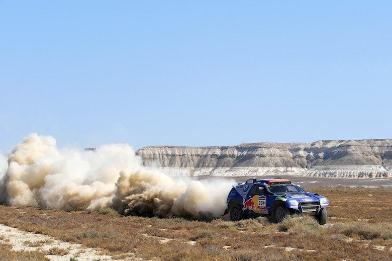 Red Bull Rally, Nasser Al Attiyah, VW Red Bull Factory Team