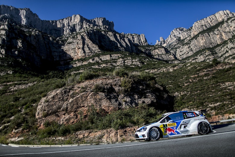 Sebastien Ogier and Neymar Jr - Action