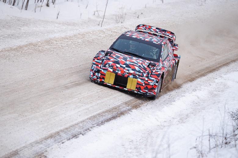 Toyota GR Yaris test