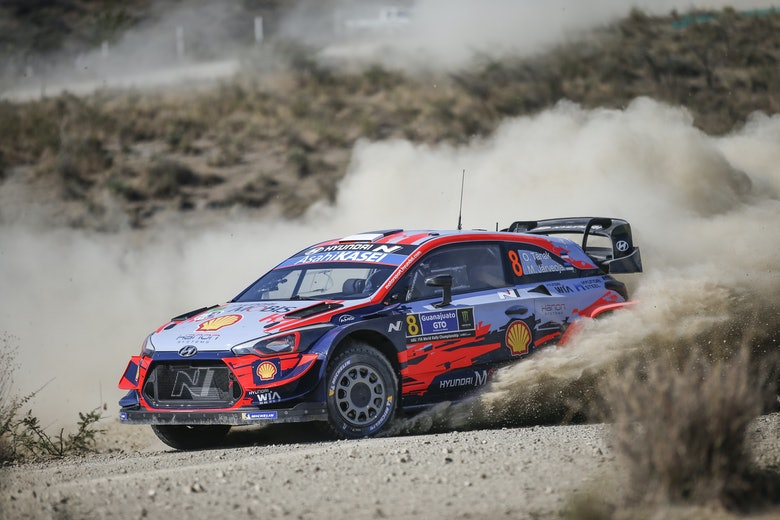 Ott Tänak Hyundai Rally México WRC 2020