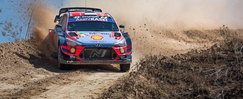 Tanak Hyundai Mexico WRC