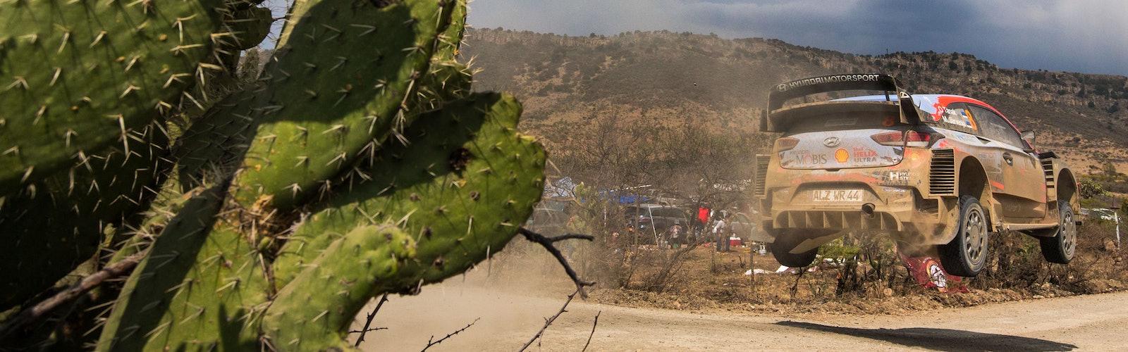 Ott Tanak Hyundai Mexico WRC