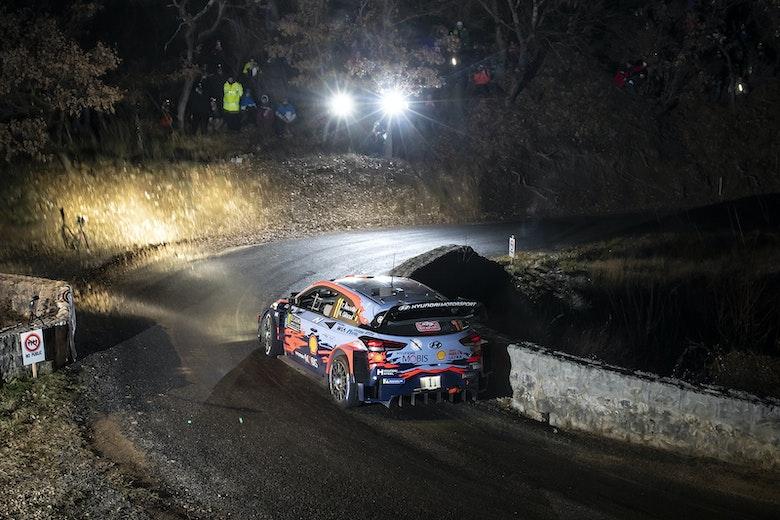 Thierry Neuville Hyundai Monte Carlo WRC 2020