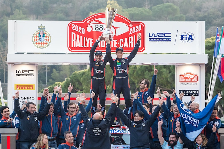 Thierry Neuville wins Monte Carlo