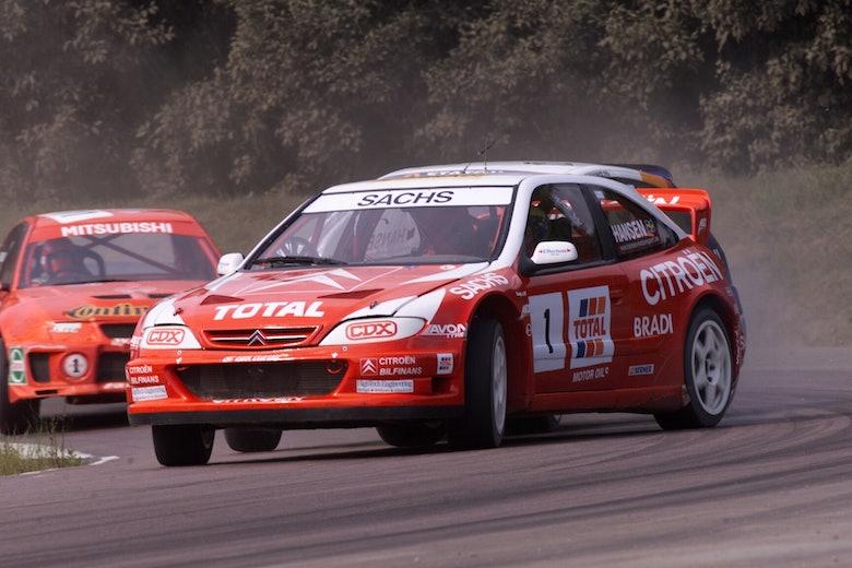 Kenneth Hansen Citroen rallycross