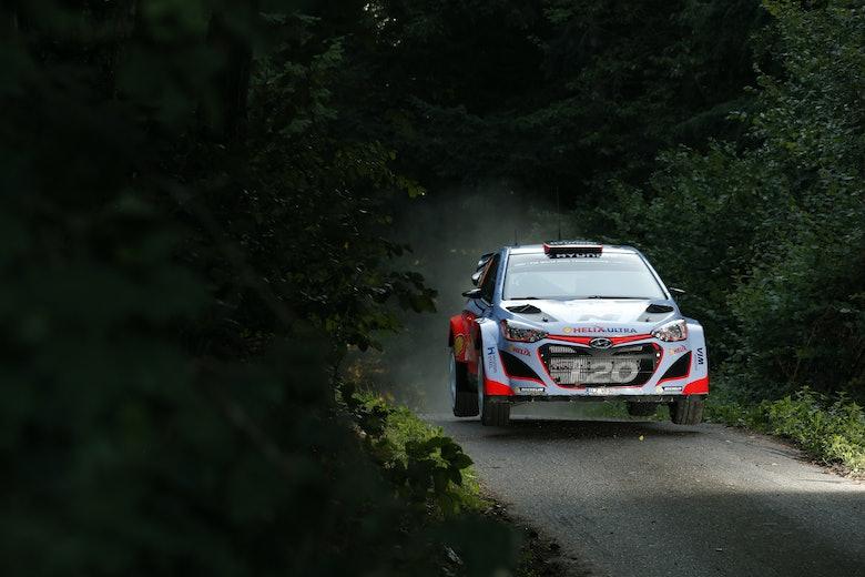 2015 Deutschland Rallye WRCcopyright: Hyundai Motorsport