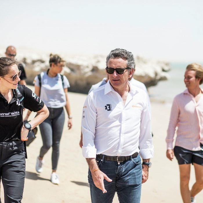 Molly Taylor (AUS), Rosberg X Racing, with Alejandro Agag, CEO, Extreme E