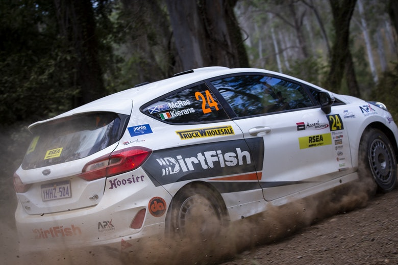 Max McRae - Australian Rally Championship - Rally Queensland 2021.