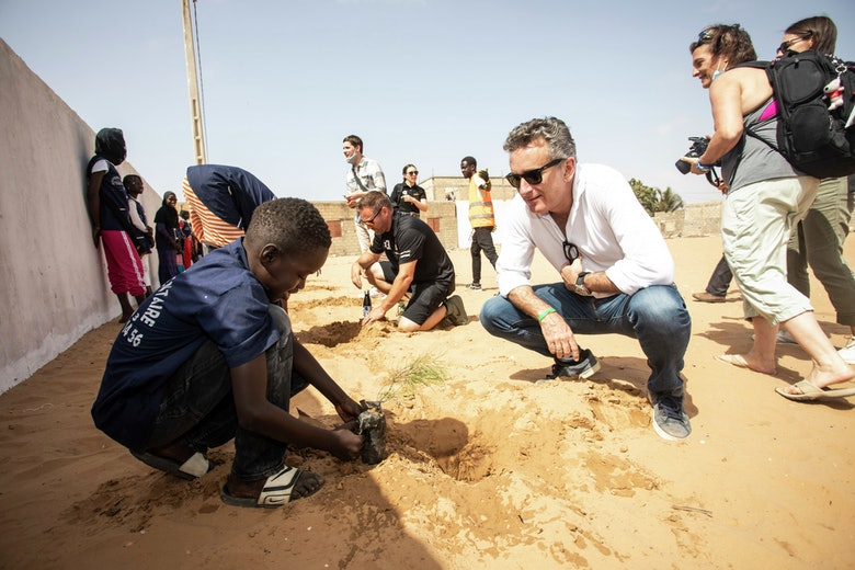 Alejandro Agag, CEO, Extreme E, on the Eco Zone Legacy Project visit