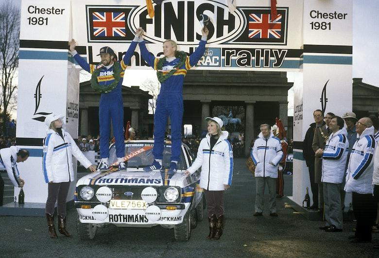 David Richards and Ari Vatanen win World Rally Championship 1981