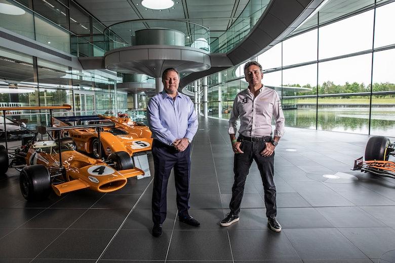McLaren XE Zak Brown Alejandro Agag1