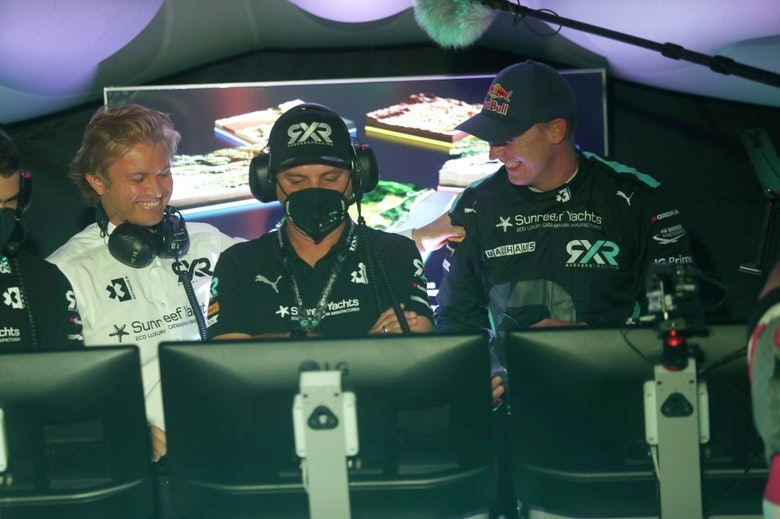 Nico Rosberg, founder and CEO, Rosberg X Racing and Johan Kristoffersson (SWE),