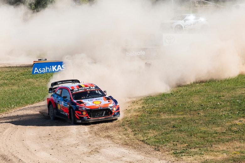 Thierry Neuville Hyundai WRC Estonia 2021