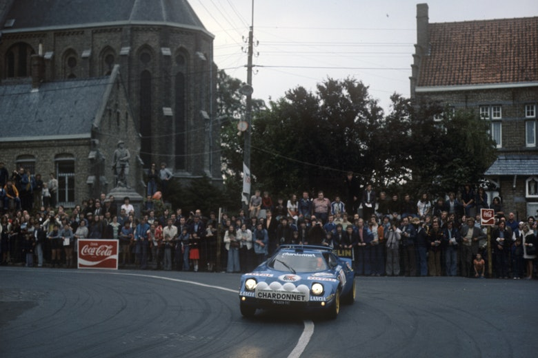 1977 Ypern Rallyecopyright: McKlein