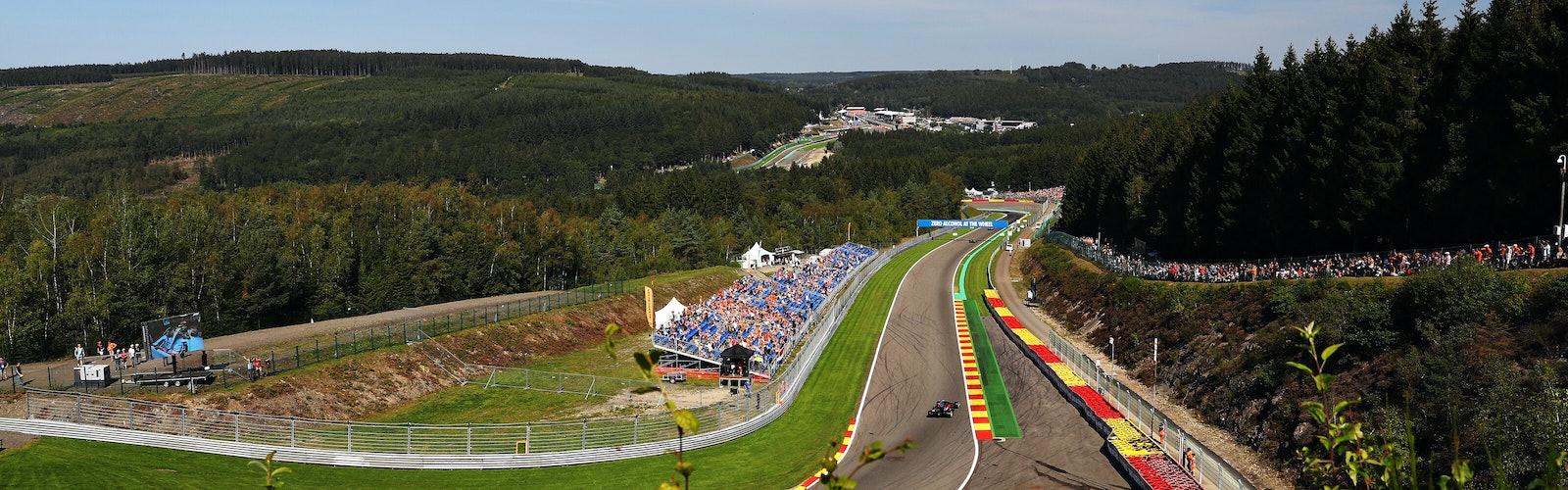 F1 Grand Prix of Belgium – Final Practice