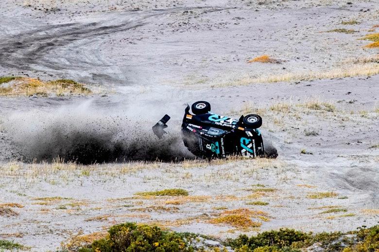 Molly Taylor (AUS), Rosberg X Racing crashes