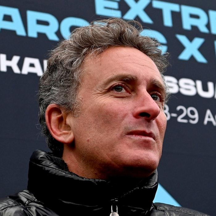Alejandro Agag, CEO, Extreme E, in the press conference