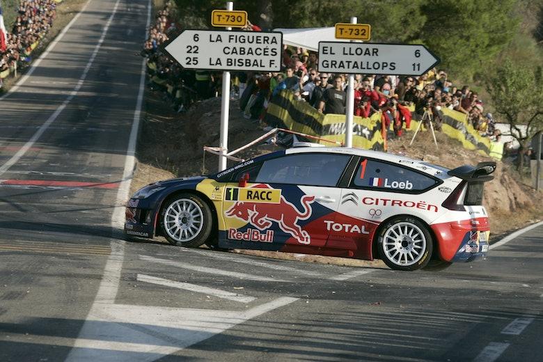Sébastien Loeb, Red Bull Rally,   Citroën WRC Team