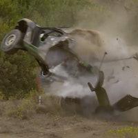 Stephane Sarrazin Extreme E crash Sardinia
