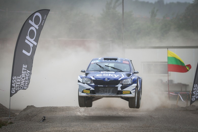 Lukasz Habaji ERC Rally Liepaja 2019