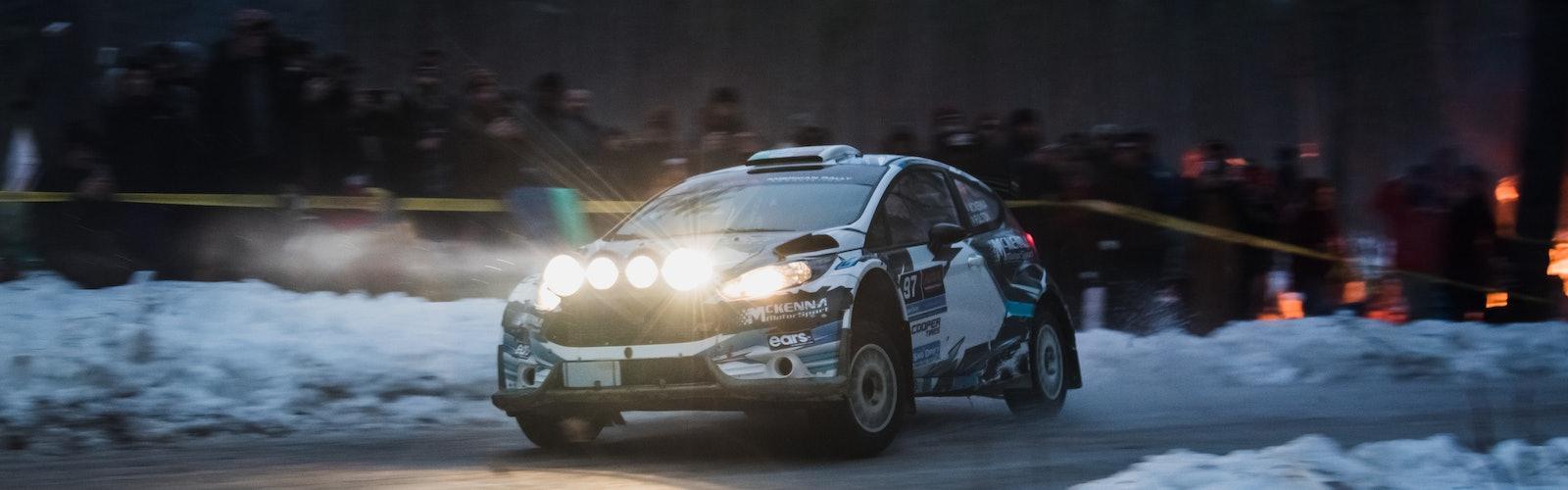 Barry McKenna Sno*Drift Rally 2020