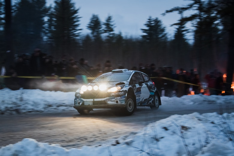 Barry McKenna Sno*Drift Rally 2020