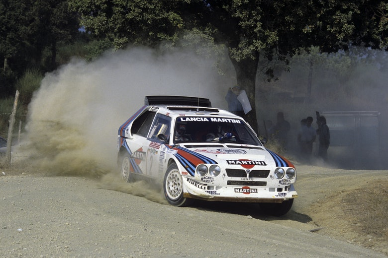 Markku Alén Lancia Sanremo Rally WRC 1986