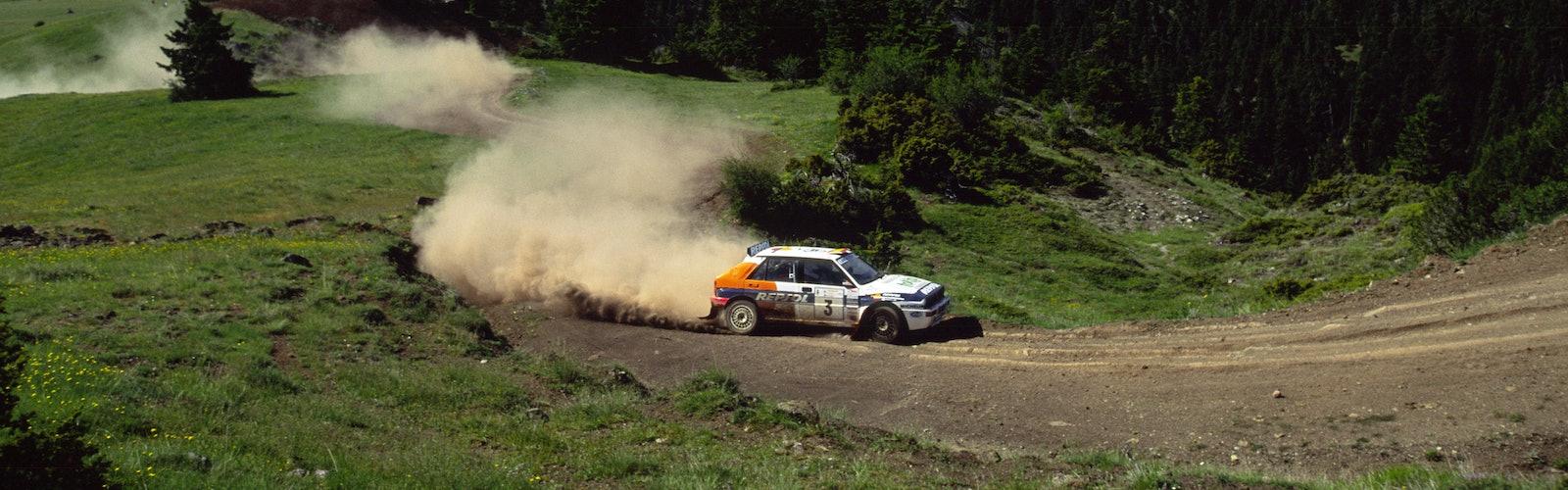 Carlos Sainz Jolly Club Lancia Delta Acropolis 1993