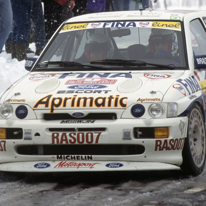 Francois Delecour Ford WRC Monte Carlo Rally 1995