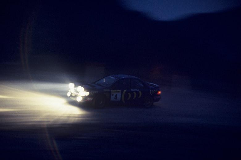 Colin McRae Subaru 1995 Monte Carlo Rally WRC