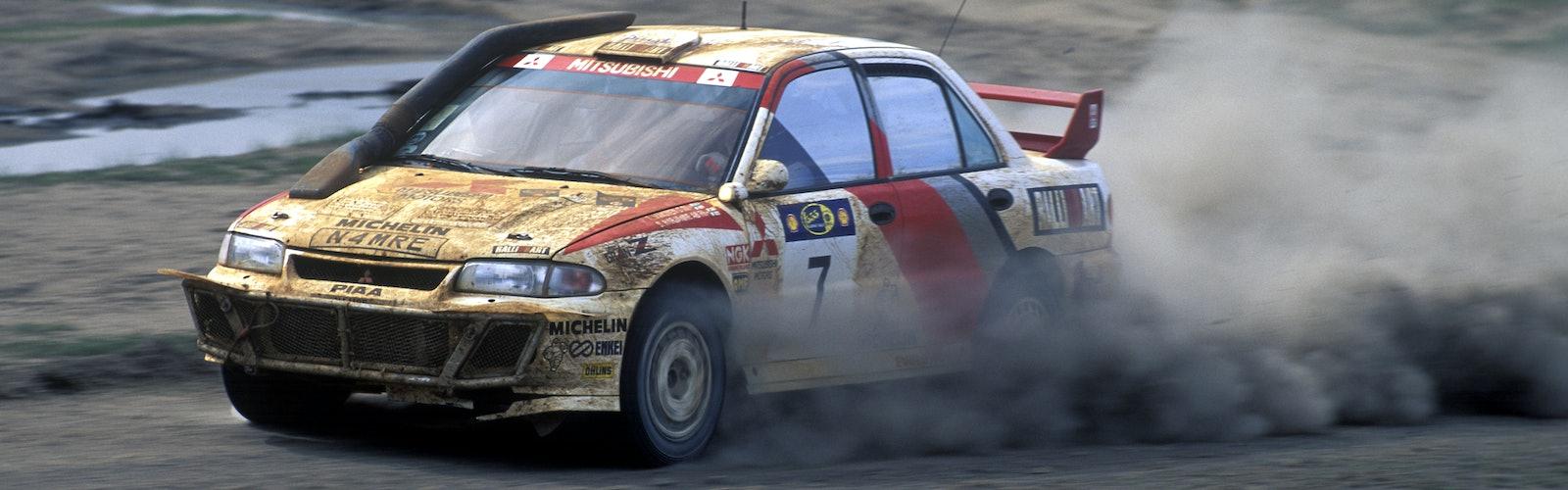 Tommi Makinen Mitsubishi WRC Safari Rally 1996