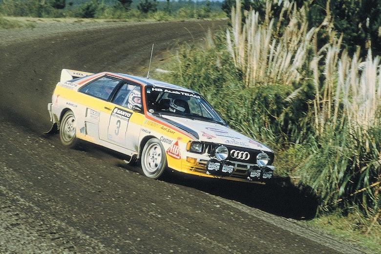 Stig Blomqvist Audi Motorsport History