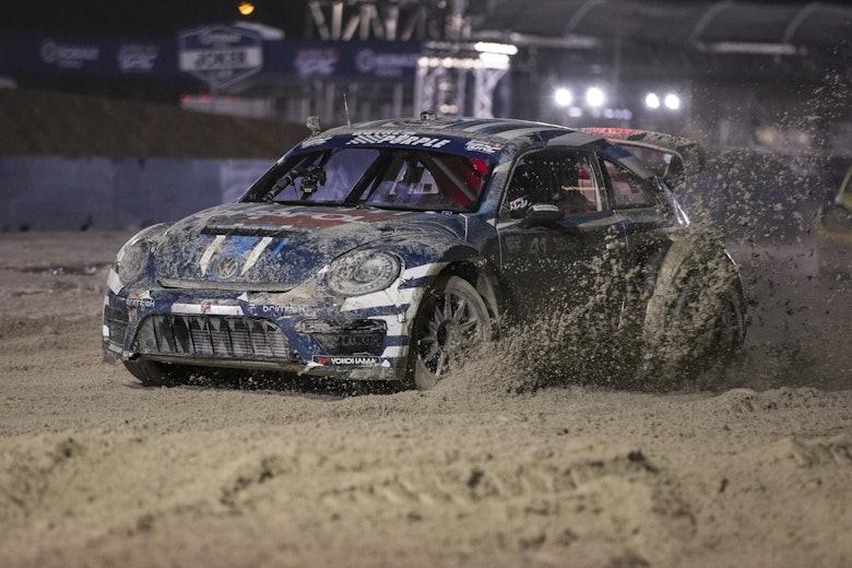 Scott Speed Andretti Autosport Volkswagen Beetle Las Vegas Global Rallycross Championship 2015