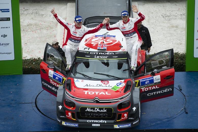 Kris Meeke Rally Mexico 2017 1