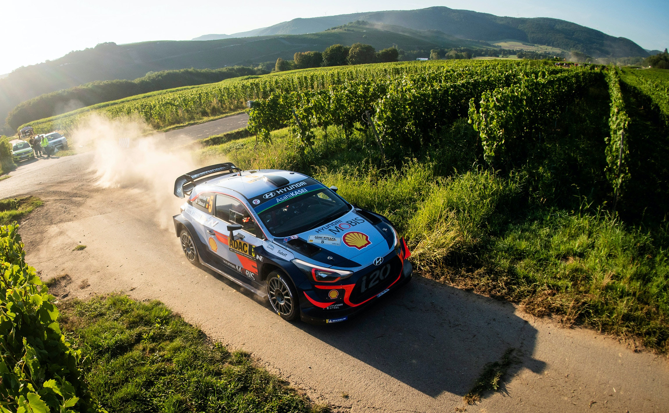 Thierry Neuville (BEL) performs during FIA World Rally Championship 2018 in Saarland, Germany on August 19, 2018 // Jaanus Ree/Red Bull Content Pool // AP-1WMVRZKUD2111 // Usage for editorial use only // Please go to www.redbullcontentpool.com for further information. //