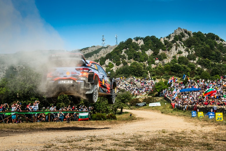 Mikkelsen Hyundai Rally Italy 2019