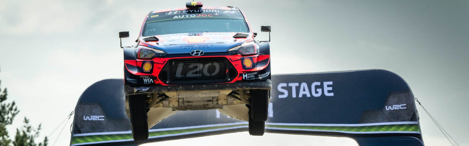Thierry Neuville Hyundai WRC Rally Finland 2019