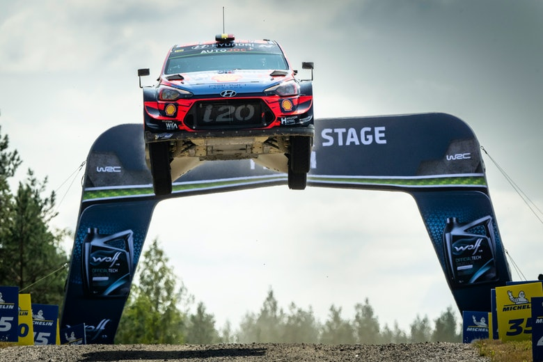 Thierry Neuville Hyundai WRC Rally Finland 2019