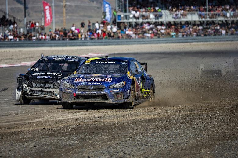 Travis Pastrana Nitro Rallycross 2019