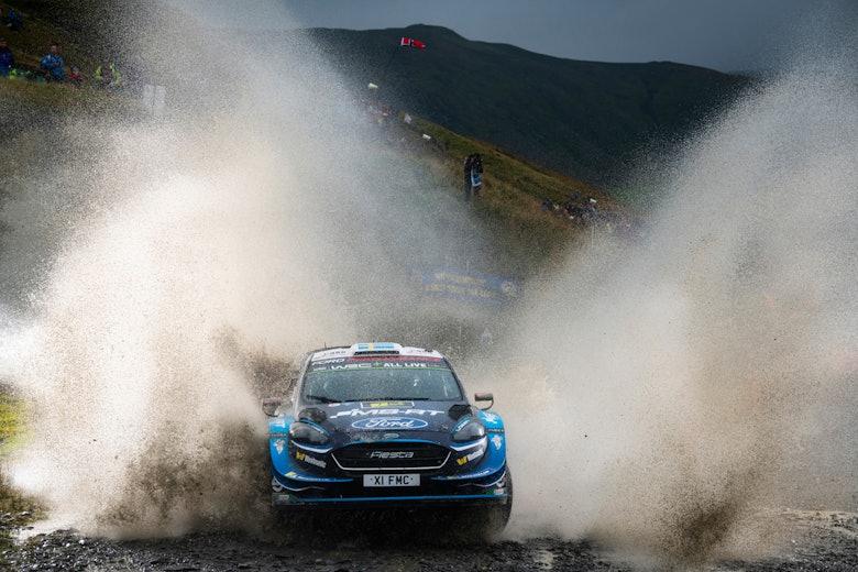 Pontus Tidemand M-Sport Ford WRC Rally GB 2019