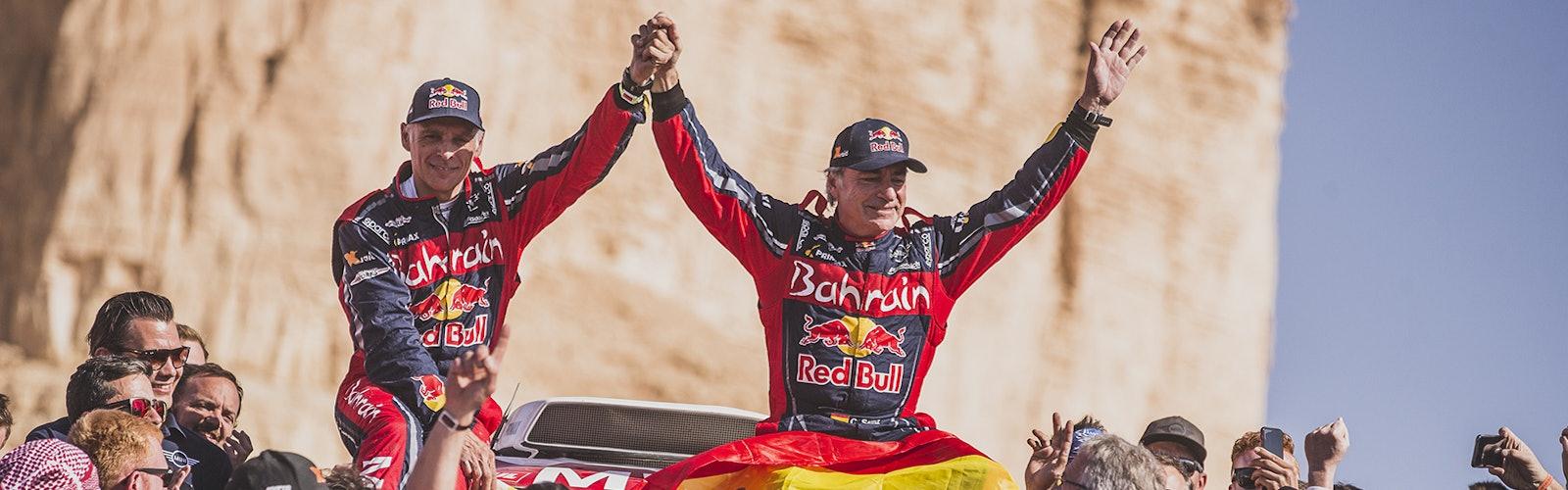 Carlos Sainz wins Dakar Rally 2020