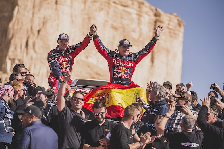 Carlos Sainz wins Dakar Rally 2020