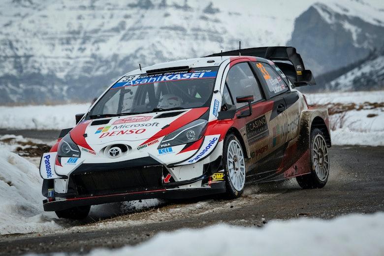 Elfyn Evans Toyota Monte Carlo Rally WRC 2020