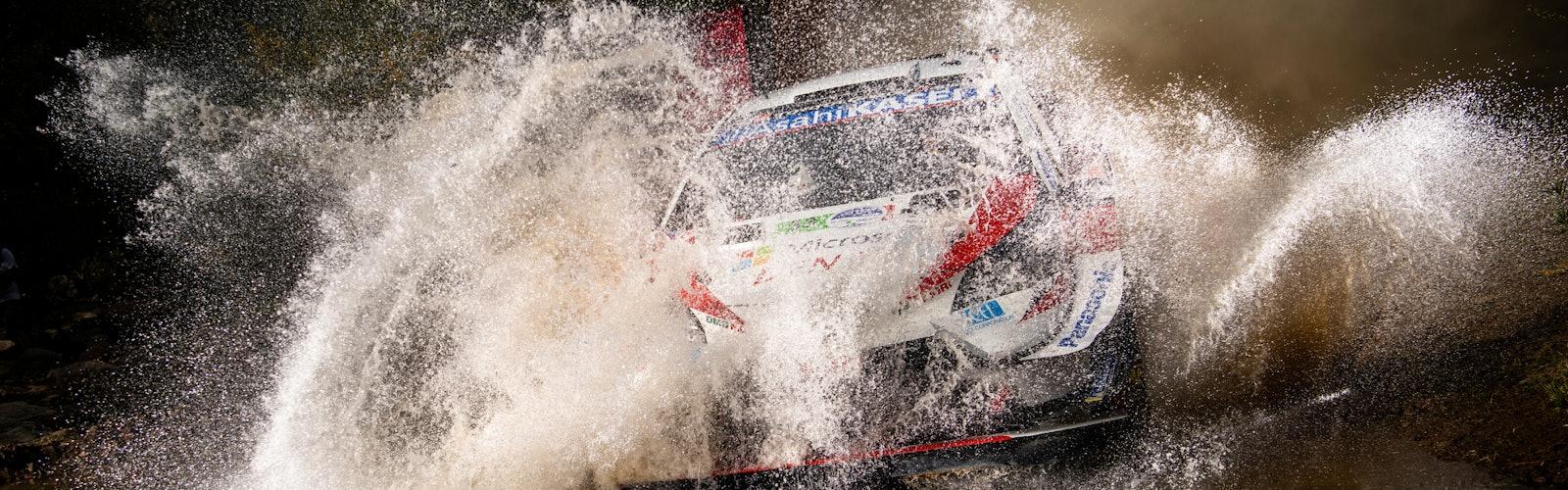 Evans Toyota Mexico WRC