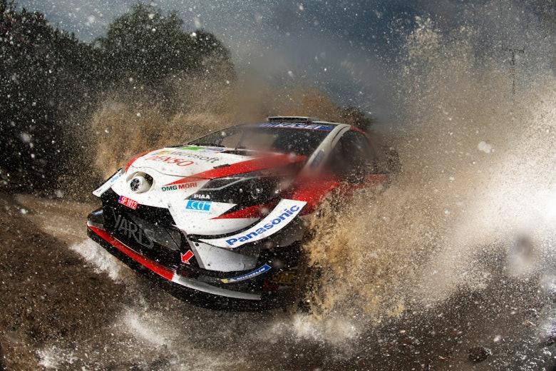 Sébastien Ogier Toyota Rally Mexico WRC 2020