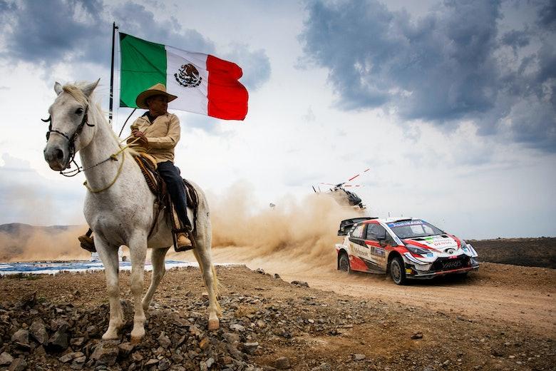 Ogier Toyota WRC Mexico
